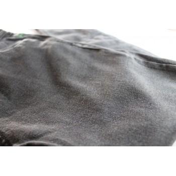 Джинсы зауженные темно-серые