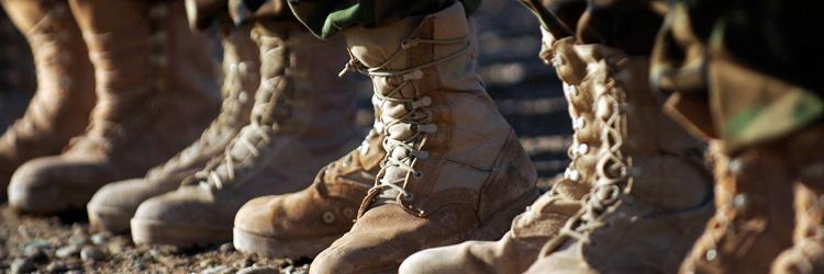 Военная обувь, которая изменила моду