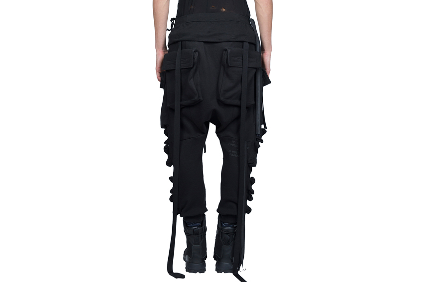 BEN TAVERNITI UNRAVEL PROJECT штаны с карманами накладными купить
