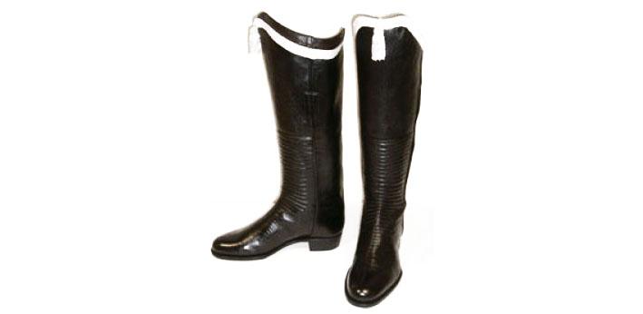 Военная обувь изменившая моду Persian riding boots