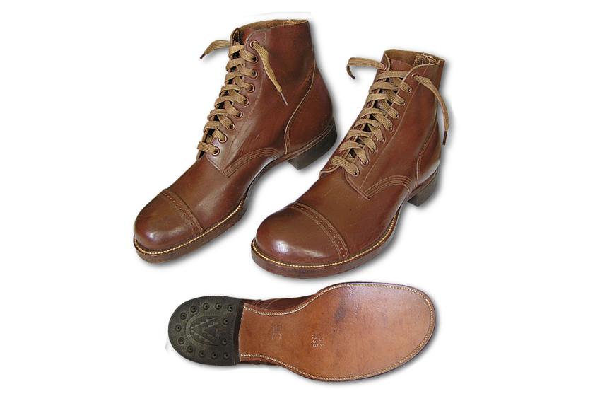 история военной обуви Service Shoe