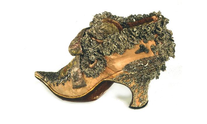 балетные туфли короля Louis XIV