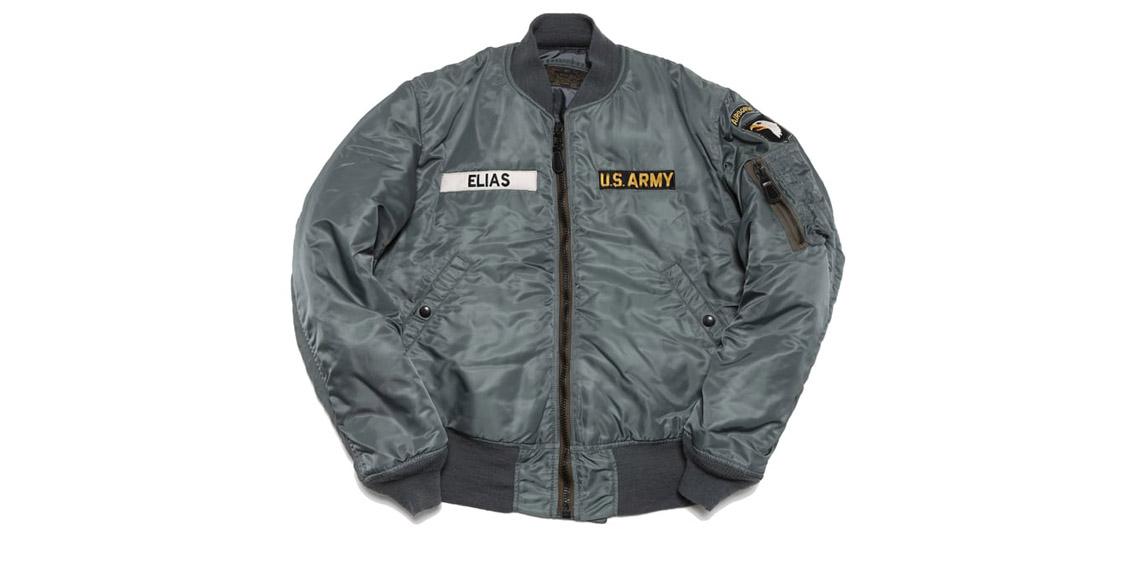 куртка пилота MA-1