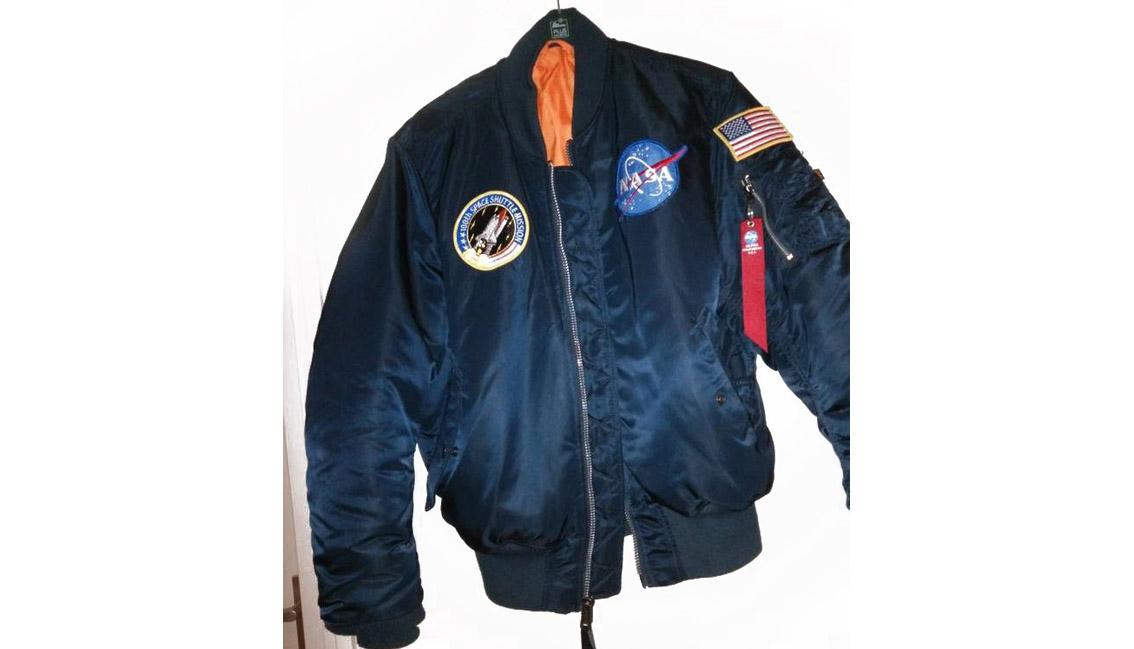 куртка пилота MA-1 NASA MA-1 FLIGHT JACKET