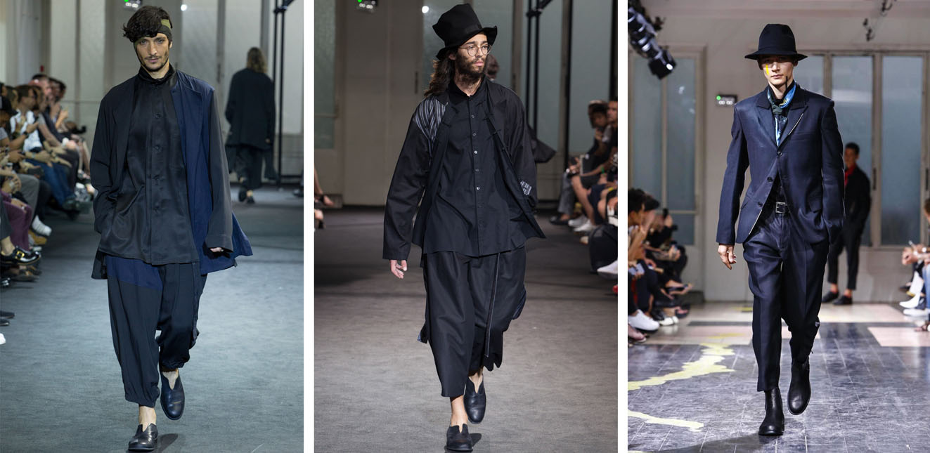Йоджи Ямамото одежда мужская
