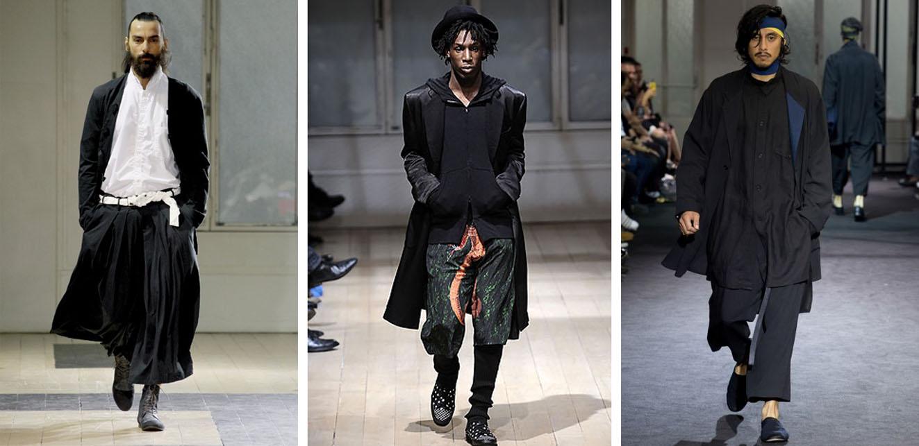 Yohji Yamamoto мужская одежда