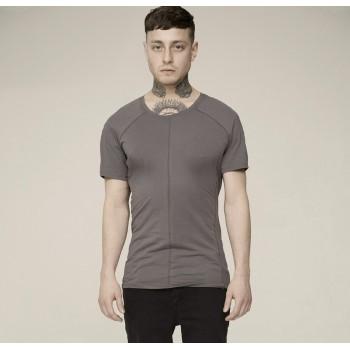 Дизайнерская футболка мужская бежевая.