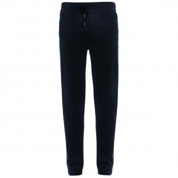 Мужские дизайнерские брюки из плотной хлопковой ткани с эластаном черные Juoadashi (Япония)