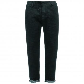 Японский деним Juoadashi мужские джинсы прямые (oversize) темно-серый цвет