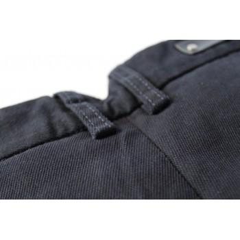"Брюки темно-синие  от японского дизайнера""Jiuodashi"" slim-fit"