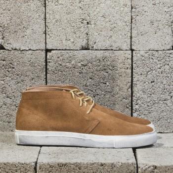 мужские светло-коричневые ботинки chukka замша